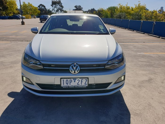 2018 Volkswagen Polo 85TSI Comfortline AW MY19 Silver