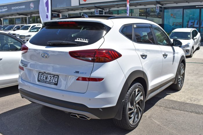 2019 Hyundai Tucson Highlander TL3 MY20 4X4 On Demand White