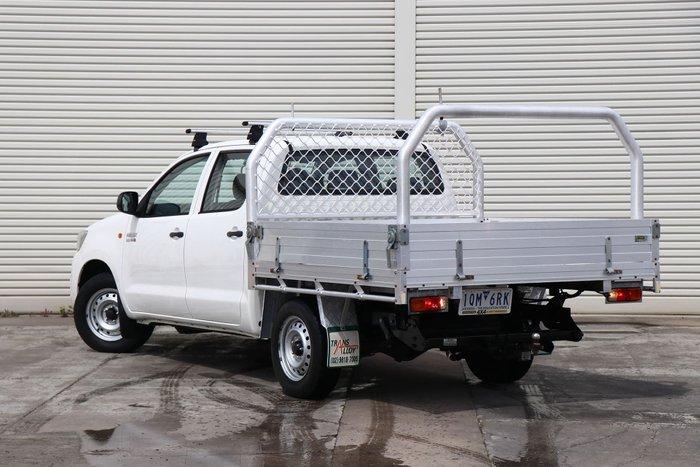 2014 Toyota Hilux SR KUN16R MY14 White