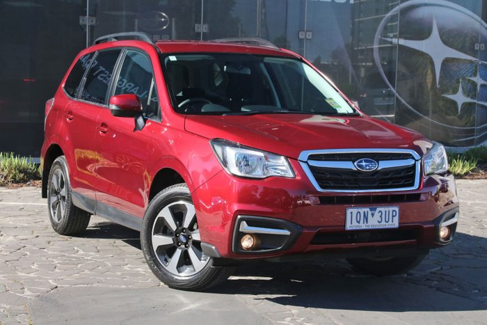 2017 Subaru Forester 2.5i-L S4 MY18 Four Wheel Drive Red