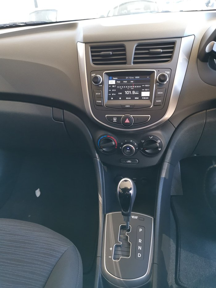 2019 Hyundai Accent Sport RB6 MY19 White