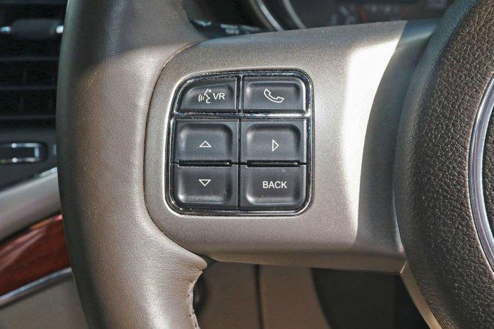 2013 Jeep Grand Cherokee Overland WK MY13 4X4 Constant Black