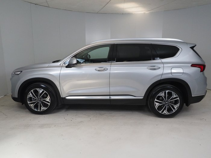 2019 Hyundai Santa Fe Highlander TM.2 MY20 4X4 On Demand Silver