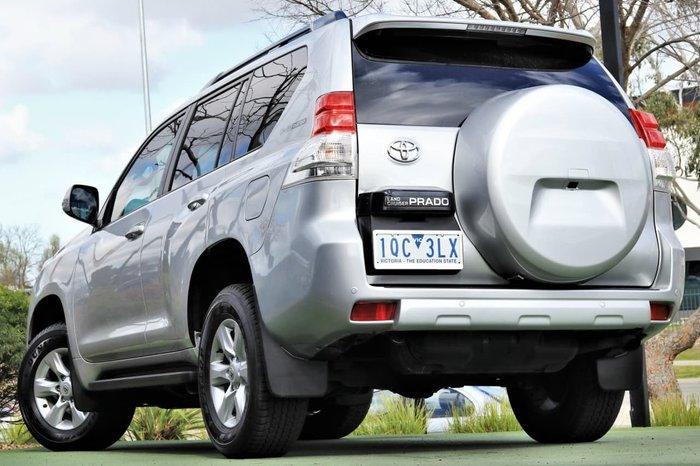 2013 Toyota Landcruiser Prado GXL KDJ150R 4X4 Constant Silver