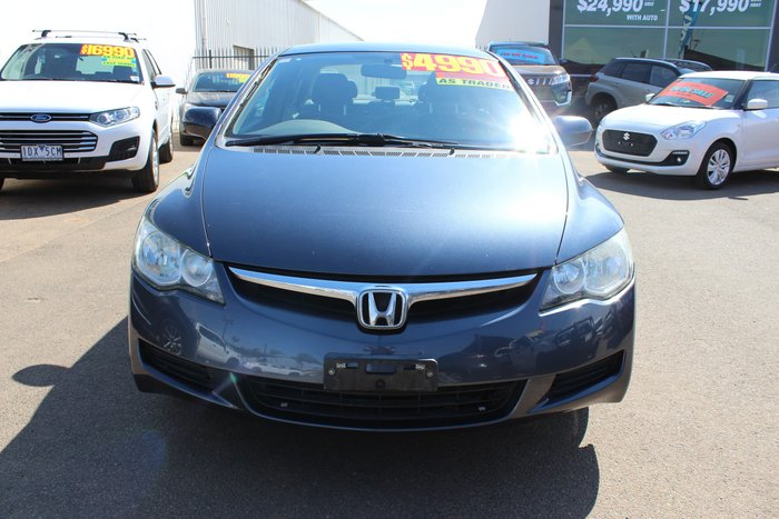 2007 Honda Civic VTi 8th Gen MY07 Grey