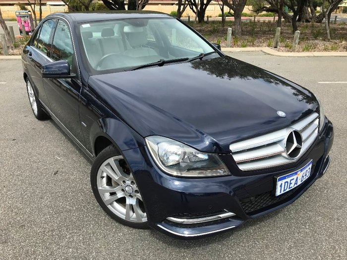 2011 Mercedes-Benz C-Class C250 CDI BlueEFFICIENCY Avantgarde W204 MY11 Blue