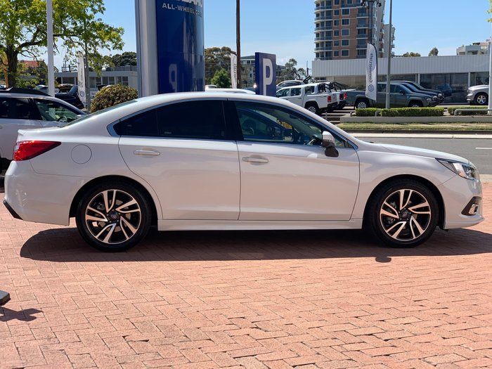 2019 Subaru Liberty 2.5i Premium 6GEN MY19 Four Wheel Drive White
