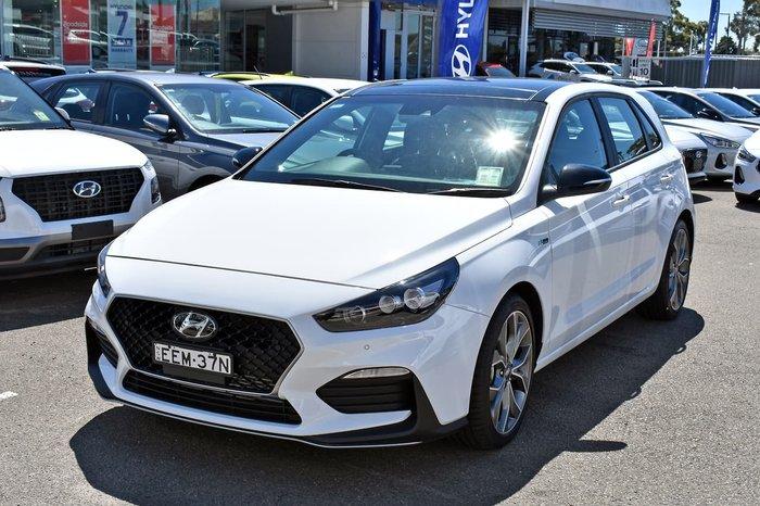 2019 Hyundai i30 N Line Premium PD.3 MY19 White
