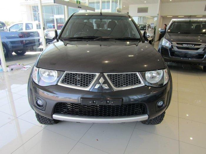 2013 Mitsubishi Triton GLX-R MN MY14 4X4 Dual Range Grey