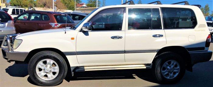 2006 Toyota Landcruiser GXL HDJ100R 4X4 Constant White