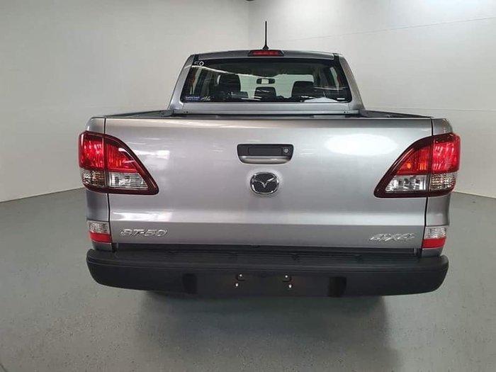 2019 Mazda BT-50 XT UR 4X4 Dual Range Silver