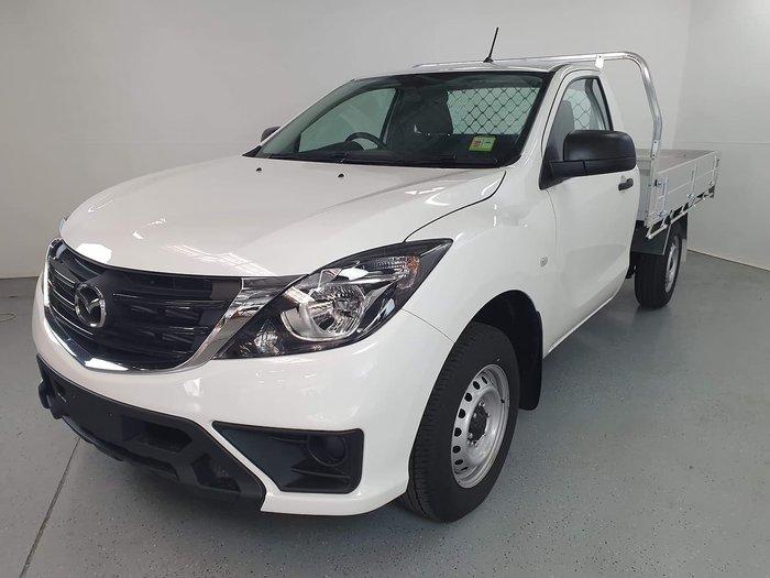 2019 Mazda BT-50 XT UR White