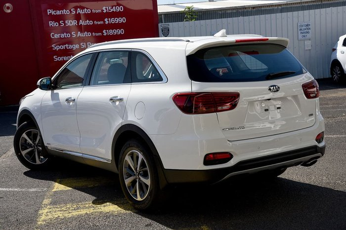 2019 Kia Sorento Black Edition UM MY20 4X4 On Demand White