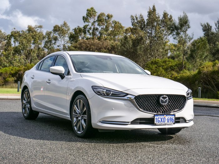 2019 Mazda 6 GT GL Series White
