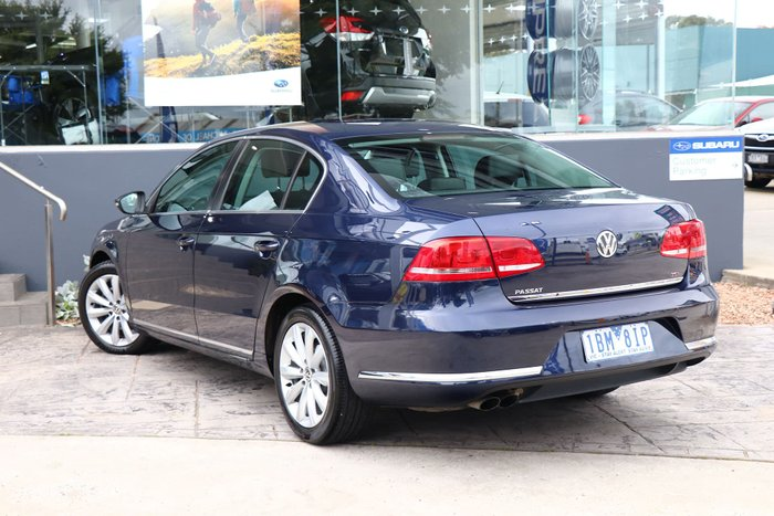 2012 Volkswagen Passat 118TSI Type 3C MY12.5 Blue
