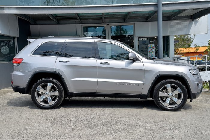 2015 Jeep Grand Cherokee Limited WK MY15 4X4 Dual Range Silver