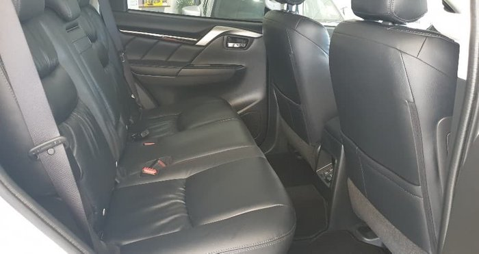 2019 Mitsubishi Pajero Sport Black Edition QE MY19 4X4 Dual Range Black