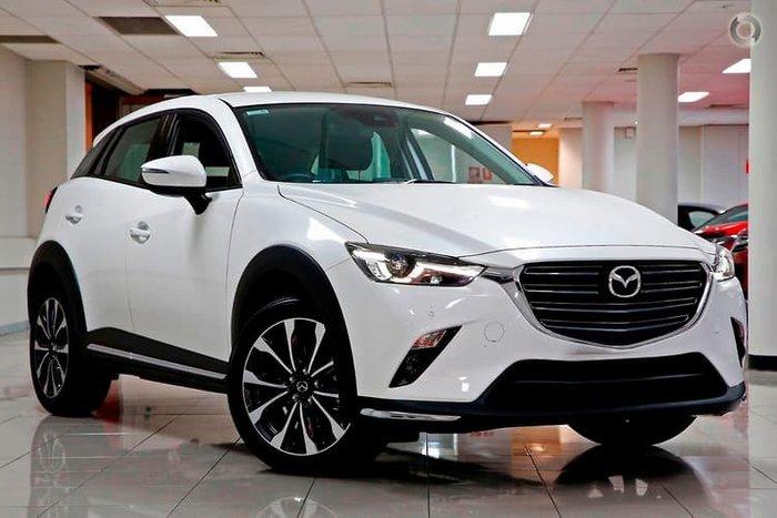 2019 Mazda CX-3 sTouring DK White