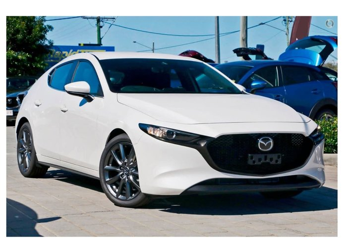 2019 Mazda 3 G25 Evolve BP Series White