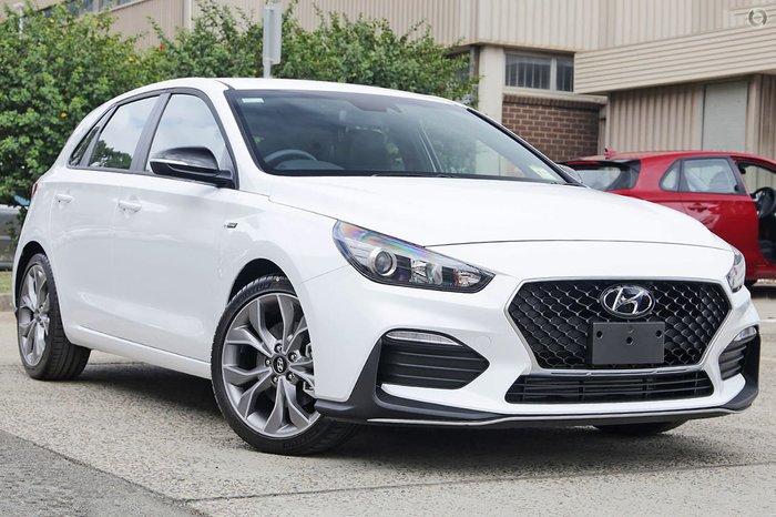 2019 Hyundai i30 N Line PD.3 MY19 White
