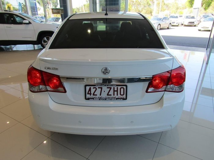 2014 Holden Cruze Z Series JH Series II MY14 White