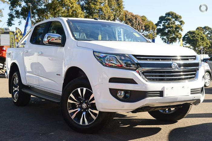 2019 Holden Colorado LTZ RG MY20 4X4 Dual Range White