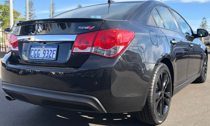 2014 Holden Cruze SRi-V JH Series II MY14 Black