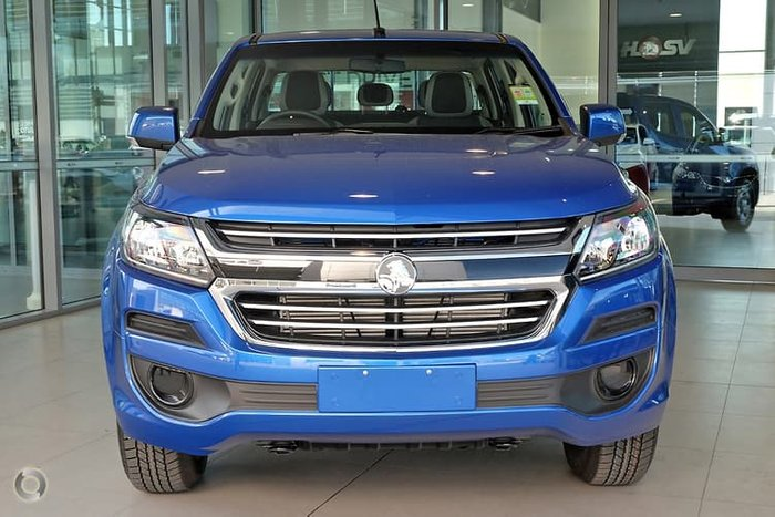2019 Holden Colorado LS RG MY19 4X4 Dual Range Blue