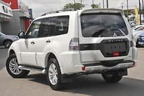 2019 Mitsubishi Pajero GLS NX MY19 4X4 Dual Range White