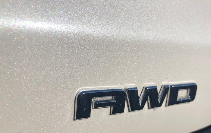 2018 Holden Acadia LTZ AC MY19 4X4 On Demand White