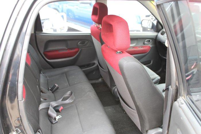 2004 Holden Cruze YG 2 4X4 On Demand Black