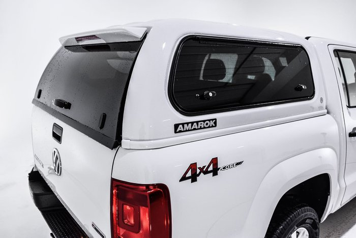 2019 Volkswagen Amarok TDI400 Core 2H MY19 4X4 Dual Range White