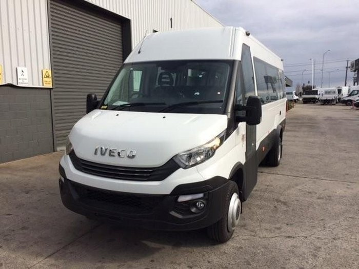 2018 IVECO DAILY SHUTTLE 16 null null WHITE
