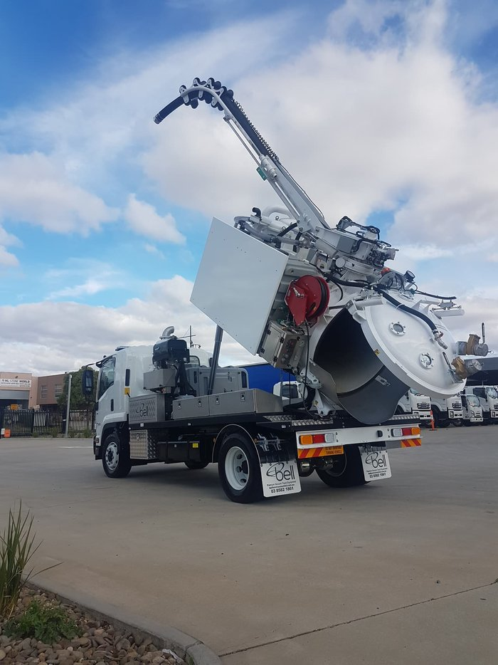 2018 Isuzu FSR 140/120-260 TANK WHITE