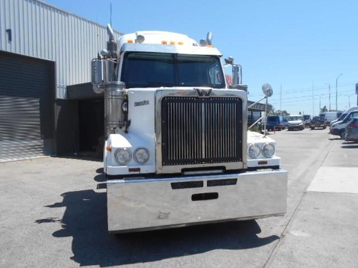 2013 WESTERN STAR 4864FX FUEL HAUL KIT null null WHITE