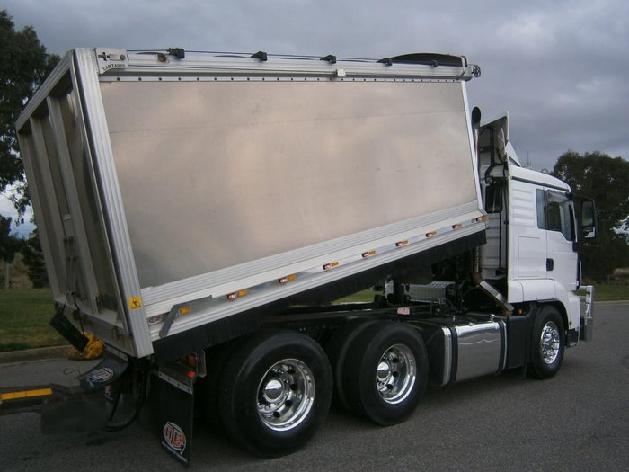 2016 MAN 26.540 TGS TIPPER null null WHITE