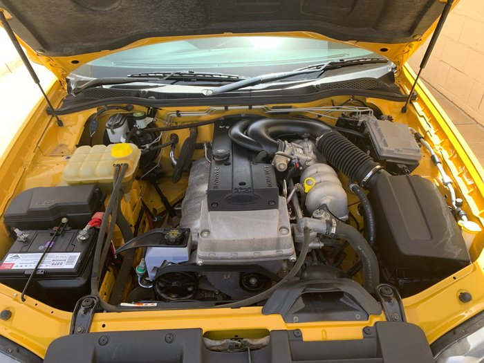 2005 Ford Falcon Ute XR6 Magnet BA Mk II Yellow