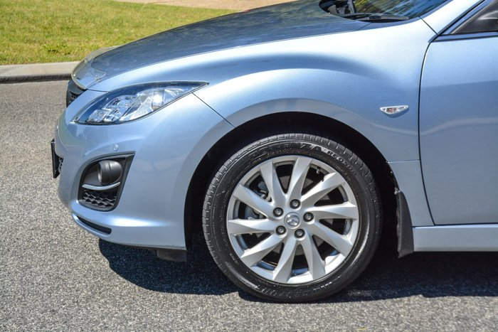 2012 Mazda 6 Touring GH Series 2 MY12 Blue