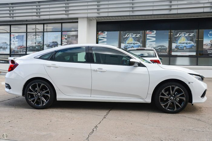 2019 Honda Civic RS 10th Gen MY19 White