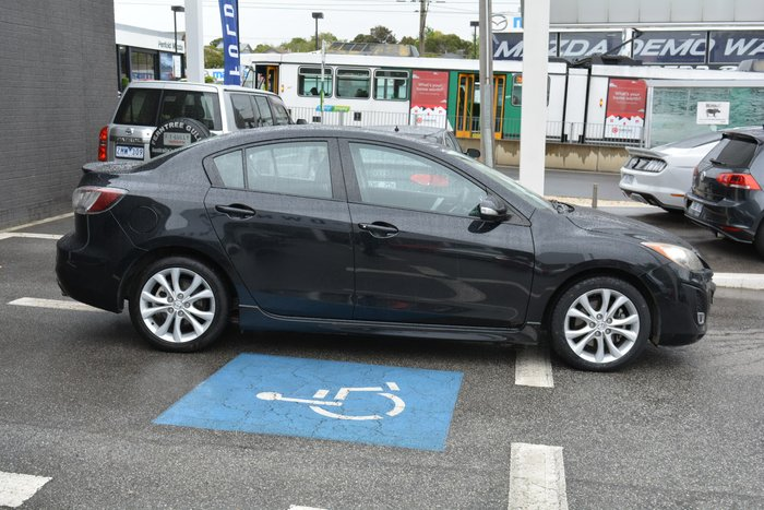 2010 Mazda 3 SP25 BL Series 1 MY10 Black