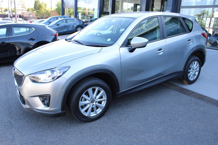 2014 Mazda CX-5 Maxx Sport KE Series MY14 4X4 On Demand Silver