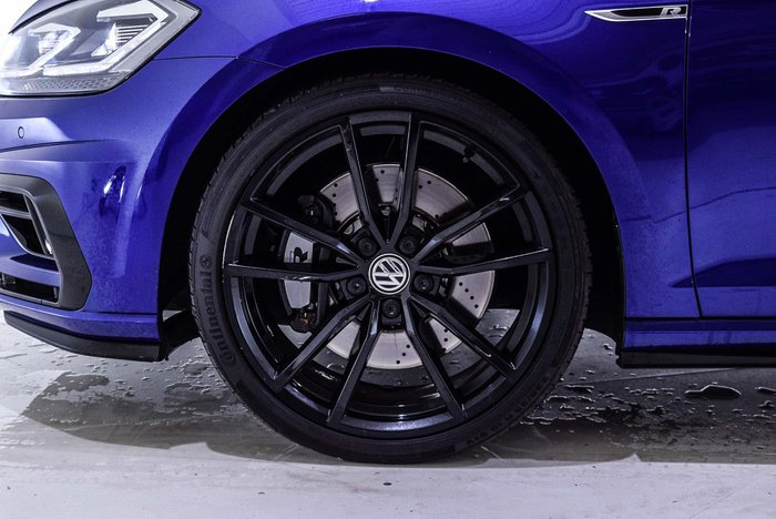 2018 Volkswagen Golf R Special Edition 7.5 MY19 Four Wheel Drive Blue