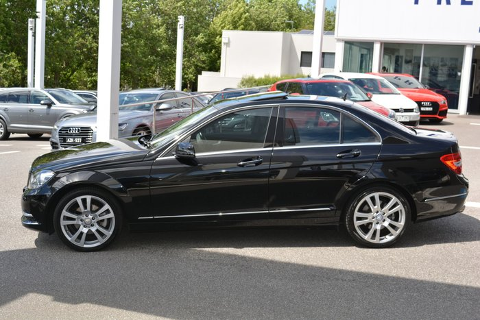 2012 Mercedes-Benz C-Class C250 BlueEFFICIENCY Elegance W204 MY12 Black