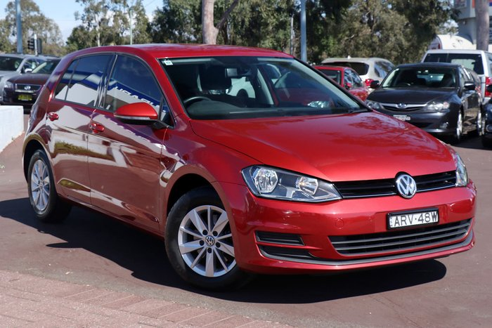 2015 Volkswagen Golf 92TSI Trendline 7 MY16 Red