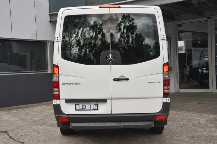 2017 Mercedes-Benz Sprinter 316CDI NCV3 White