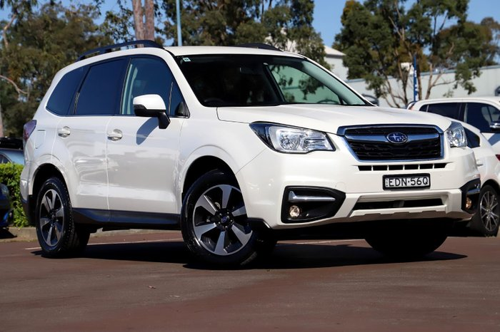2018 Subaru Forester 2.5i-L S4 MY18 Four Wheel Drive White
