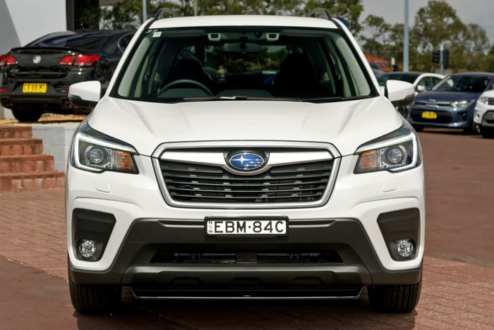 2019 Subaru Forester 2.5i S5 MY19 Four Wheel Drive White