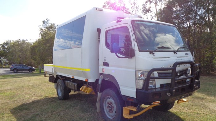 2012 Fuso FG Canter 4x4 Bus White