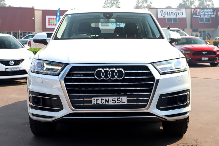 2016 Audi Q7 TDI 4M MY16 Four Wheel Drive White