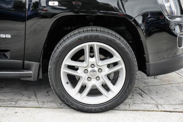 2014 Jeep Compass Limited MK MY14 Four Wheel Drive Black